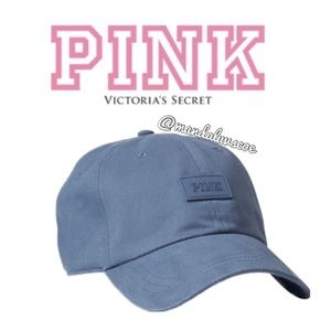 🧢💕VS PINK BLUE LOGO HAT / BASEBALL CAP